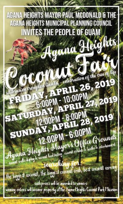 Agana Heights Coconut Fair